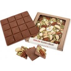 Čokoláda Mléčná s ořechy 250g