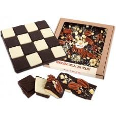 Čokoláda Chilli con pekan 255g
