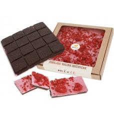 "Čokoláda Malina ""dočervena""  260g"