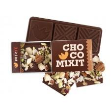 Mini Čokoláda Mléčná s ořechy 50g