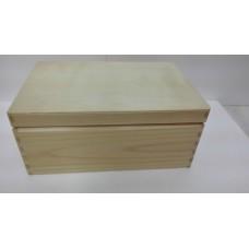 Dřevěná bedýnka s poklopem