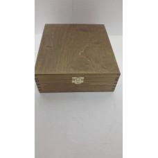 Dřevěná krabička na čajové sáčky 9 přihrádek