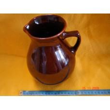 Keramický džbán s glazurou 1,5 L