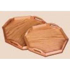 Dřevěný tác osmihran 2