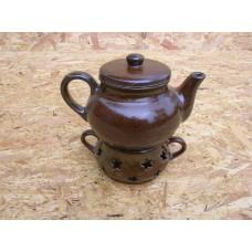 Konvička na čaj s ohříváčkem