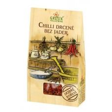 Chilli drcené bez jader 20 g GREŠÍK Dobré koření - ostřejší kuchyně