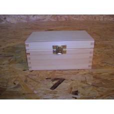 Dřevěná čajová krabička