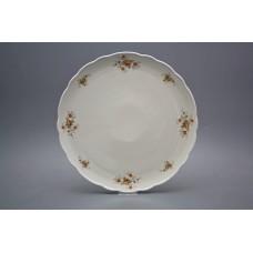 Dortový talíř 31cm Rokoko Čajové růžičky BB