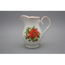 Džbán porcelánový vánoční hvězda 1 L