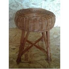 Proutěný stolička, taburetek